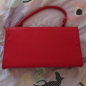 💗💋💗Retro Candy Apple Red Purse